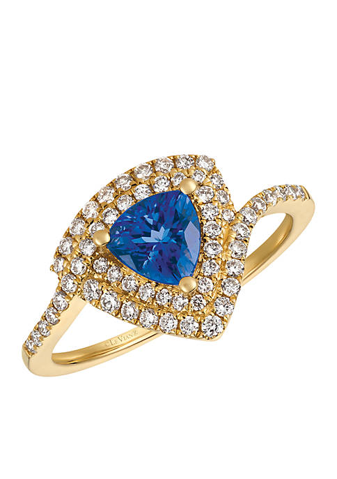Le Vian® Blueberry Tanzanite and Vanilla Diamonds Ring