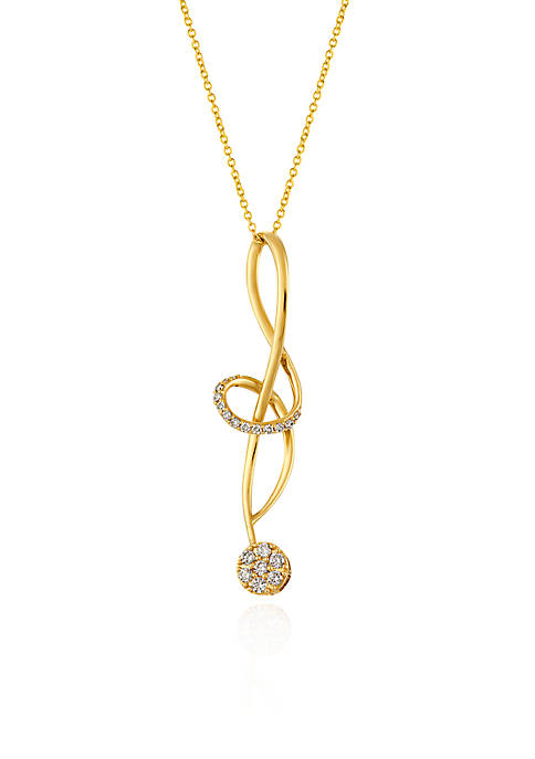 Le Vian® 0.32 ct. t.w. Vanilla Diamonds® Pendant