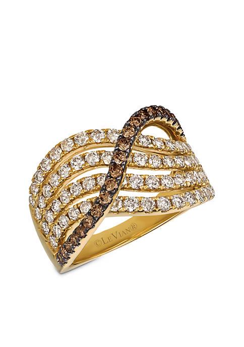 Le Vian® Nude Diamond and Chocolate Diamonds® Ring