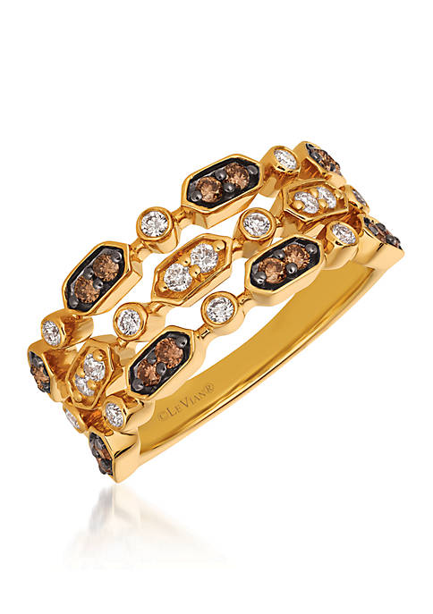 Le Vian® Chocolatier Vanilla Diamonds and Chocolate Diamonds