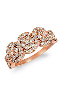Le Vian® Creme Brulee® 1/3 ct. t.w. Nude Diamonds™ Ring in 14K Strawberry Gold®