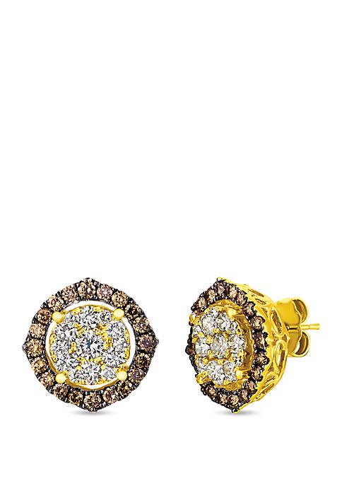 Le Vian® 1.98 ct. t.w. Diamond Stud Earrings