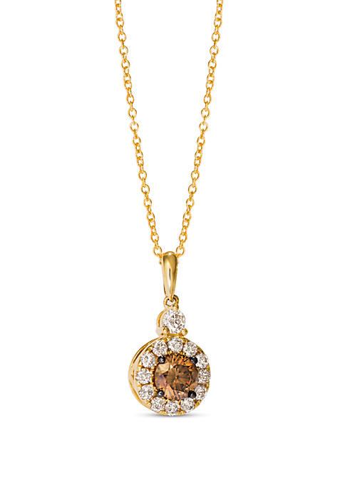 Le Vian® 1/2 ct. t.w. Chocolate Diamonds®, 1/3