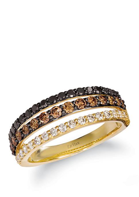 Le Vian® 3/8 ct. t.w. Chocolate Diamonds®, 1/4