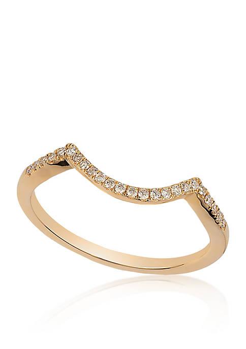 Vanilla Diamonds® Ring in 14K Honey Gold™