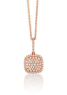 Le Vian Pendant with Vanilla Diamonds in 14K Strawberry Gold