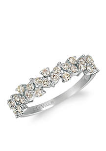 Creme Brulee® 1/2 ct. t.w. Nude Diamonds™ Ring in 14K Vanilla Gold®