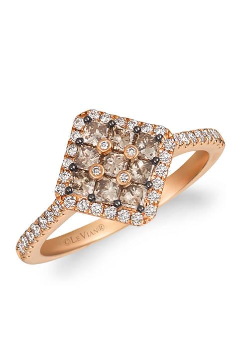 Le Vian® 5/8 ct. t.w. Chocolate Diamond, 1/4