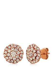 Le Vian® 1 ct. t.w. Nude Diamonds™ Earrings in 14K Strawberry Gold®