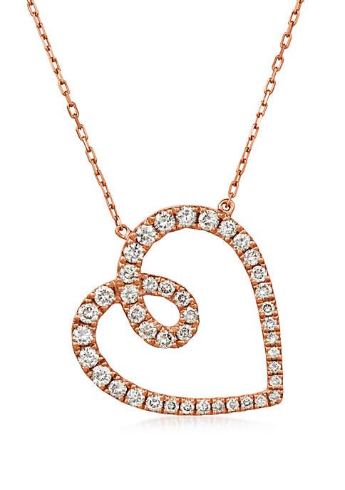 Le Vian® 3/4 ct. t.w. Nude Diamonds™ Heart