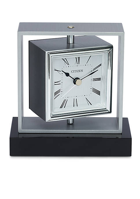 Citizen Decorative Accents Square Spinning Clock