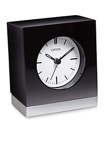 Citizen Square Clock With Circular Dial