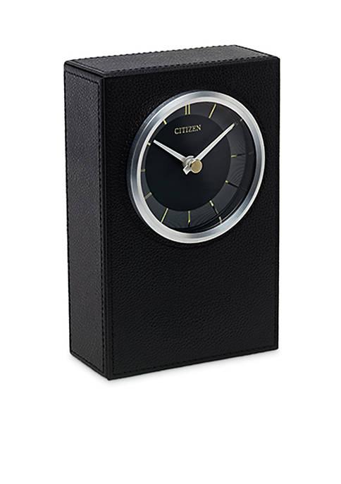 Leather Citizen Decorative Accents Standing Desk Clock