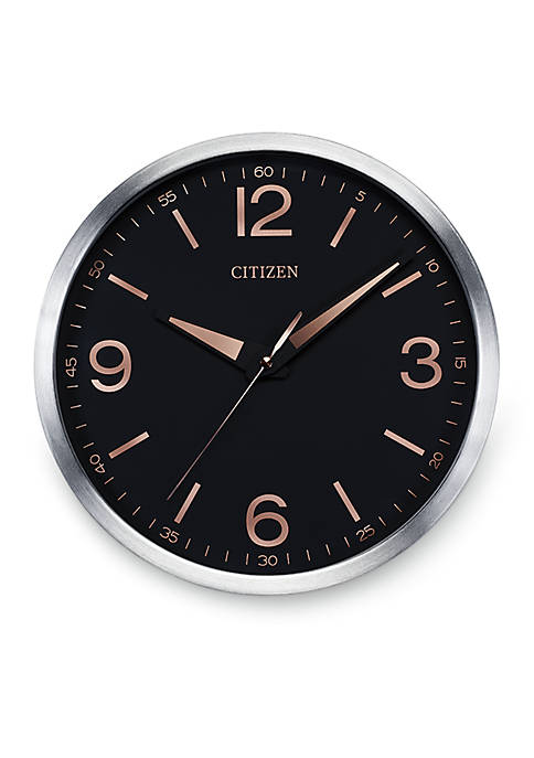 Citizen Two-Tone Gallery Circular Wall Clock