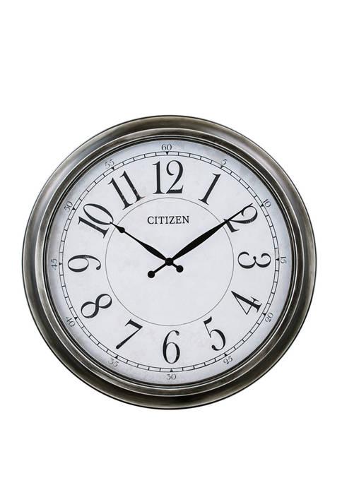 Citizen 24 Inch Indoor Outdoor Wall Clock