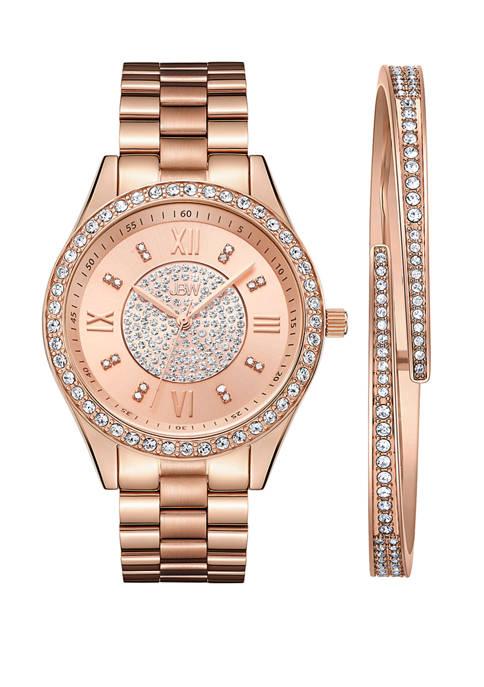 JBW 1/6 ct. t.w. Diamond Mondrian Jewelry Watch