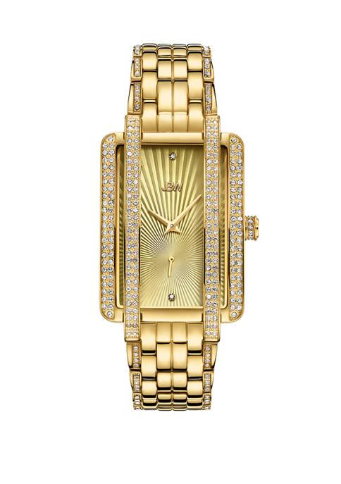 JBW 1/8 ct. t.w. Diamond Mink Watch in