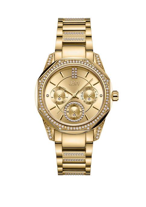 JBW 1/10 ct. t.w Marquis Diamond Bracelet Watch