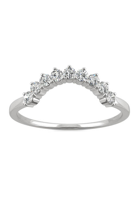 Charles & Colvard 1/4 ct. t.w. Moissanite Contoured