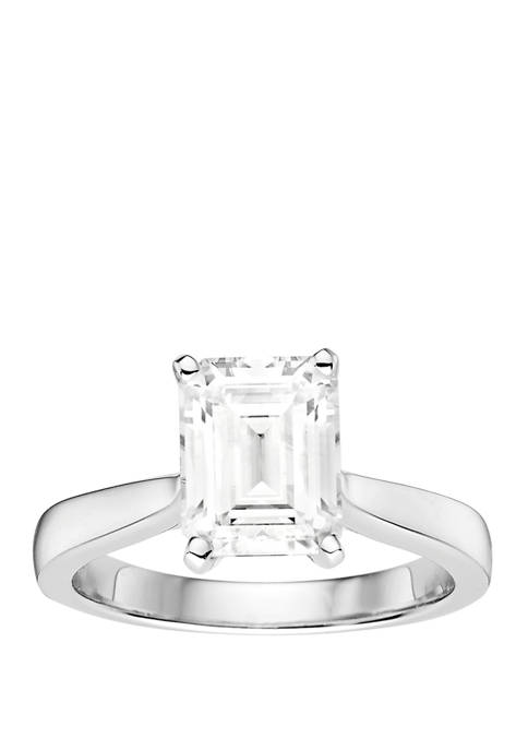 2.52 ct. t.w. Lab Created Moissanite Solitaire Ring in 14K White Gold