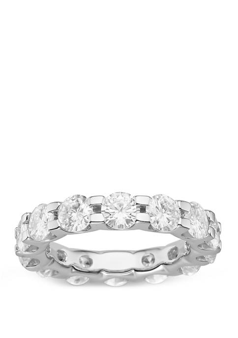 4.62 ct. t.w. Lab Created Moissanite Eternity Band in 14K White Gold