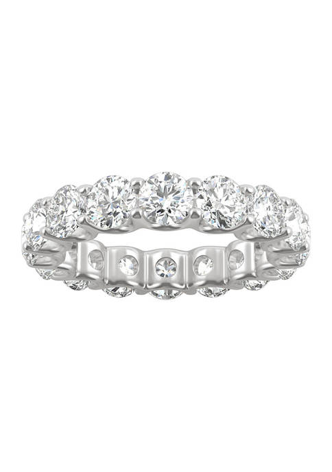 5 ct. t.w. Lab Created Moissanite Eternity Band in 14k White Gold