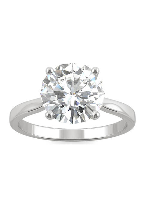 3/4 ct. t.w. Lab Created Moissanite Solitaire Engagement Ring in 14k White Gold
