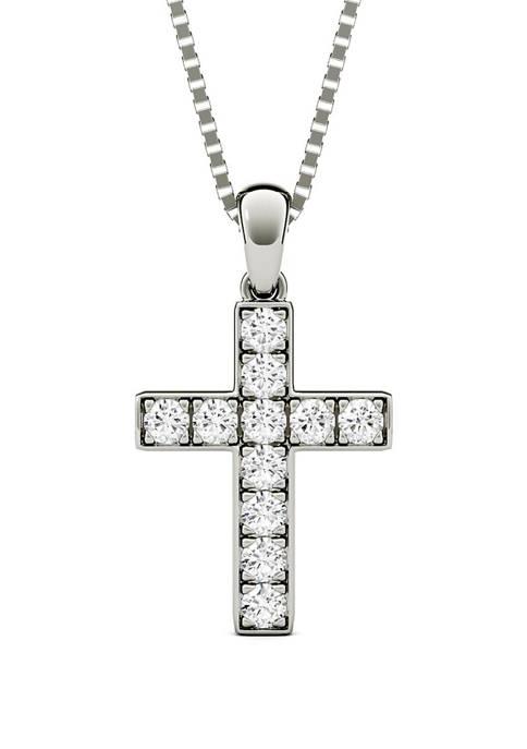 Charles & Colvard 1/5 ct. t.w. Moissanite Cross