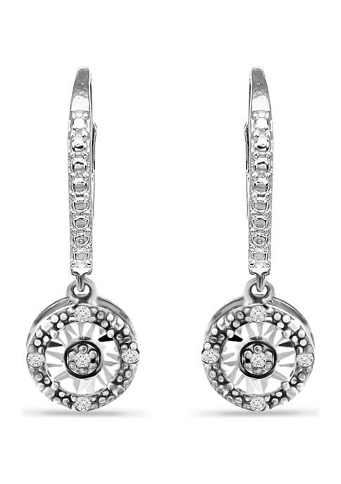 Belk & Co. 1/10 ct. t.w. Diamond Earrings