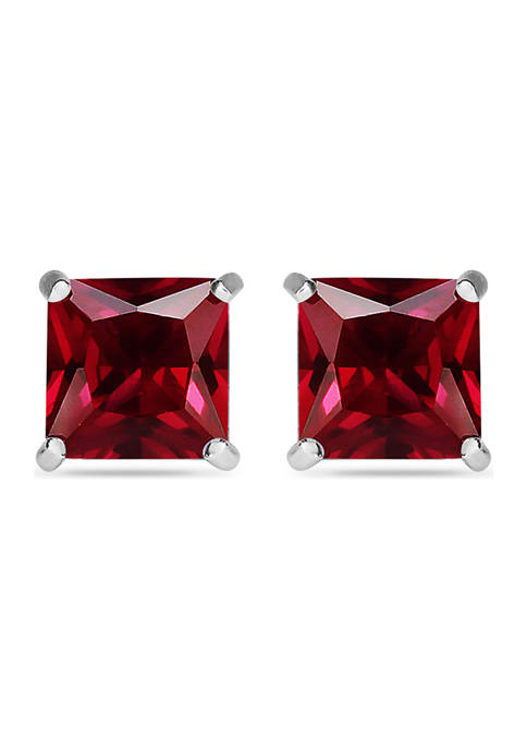 Belk & Co. 3.75 ct. t.w. Garnet Stud Earrings