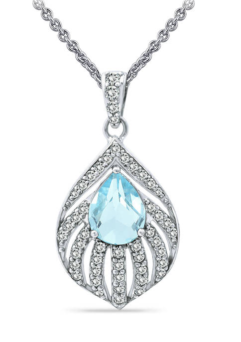 Belk & Co. 2.22ct. t.w. Blue Topaz and