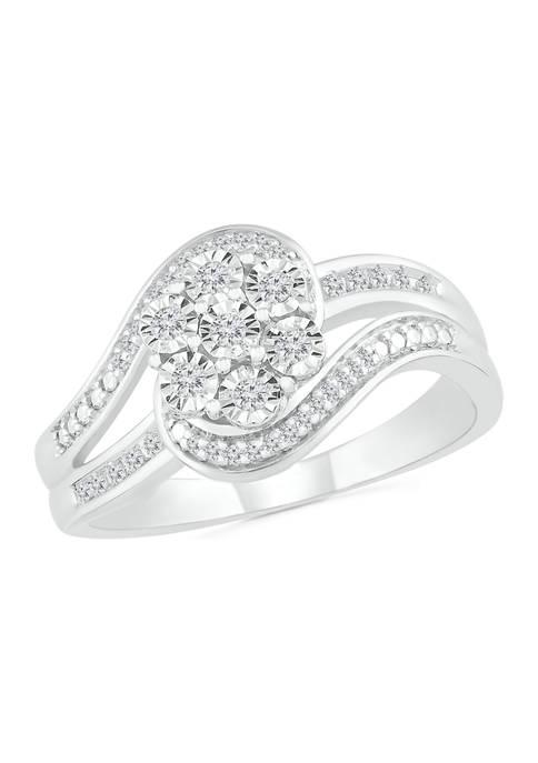 Belk & Co. 1/6 ct. t.w. Diamond Sterling
