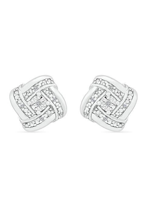 Belk & Co. Diamond Accent Sterling Silver Fashion