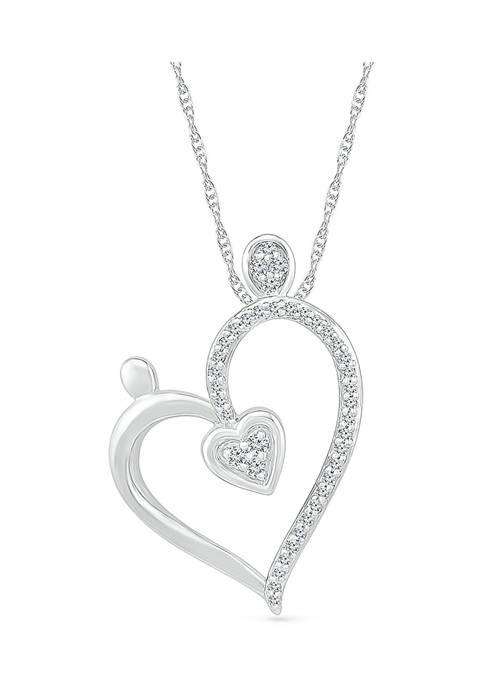 Belk & Co. 1/8 ct. t.w. Diamond Heart