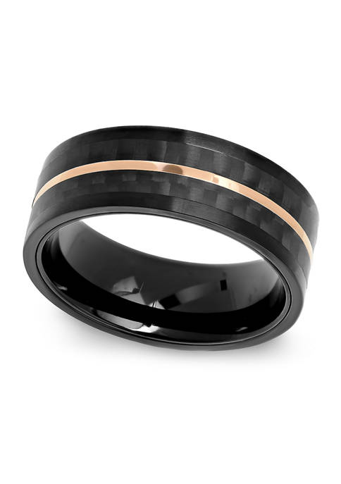 Belk & Co. Striped Band in Black and