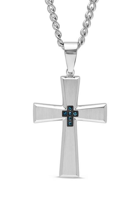 Belk & Co. 1/10 ct. t.w. Blue Diamond