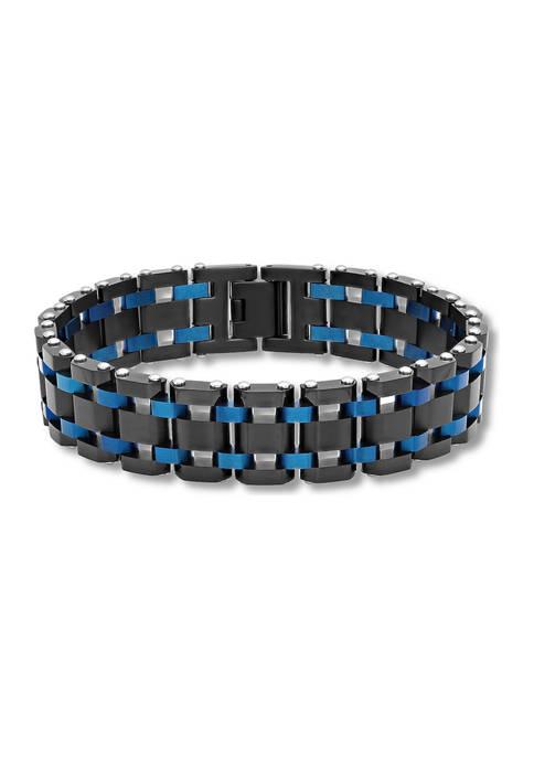 Watch Link Bracelet in Two-Tone Stainless Steel