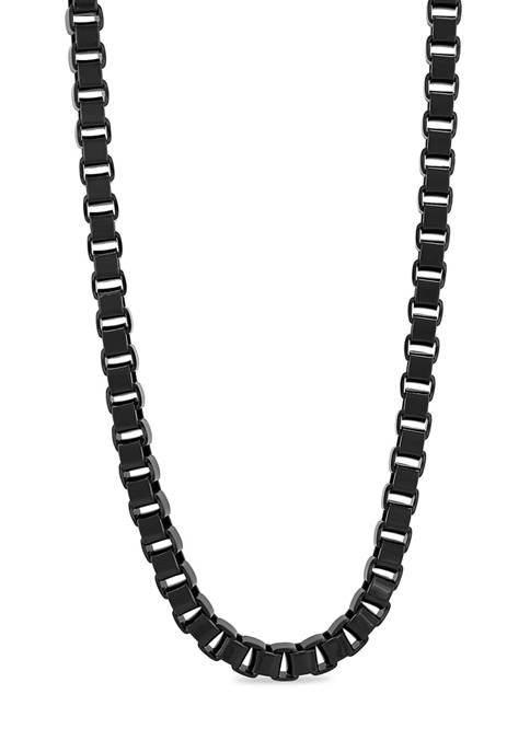 Belk & Co. Box Link Chain Necklace in