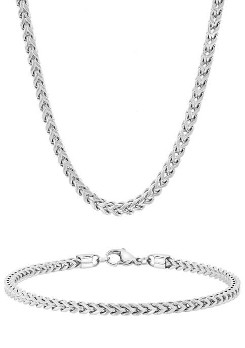 Belk & Co. Franco Link Chain Bracelet and