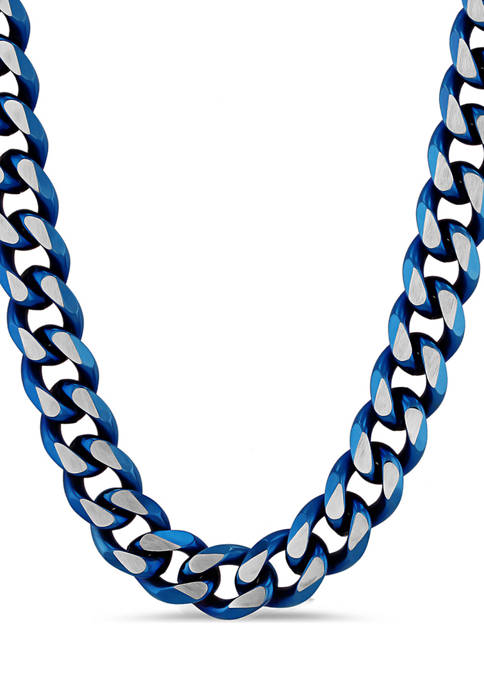 Belk & Co. Beveled Curb Link Chain Necklace