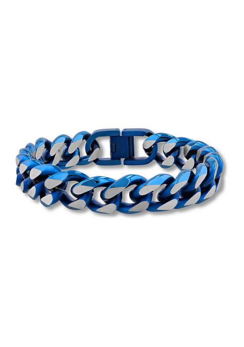 Belk & Co. Beveled Curb Link Bracelet in