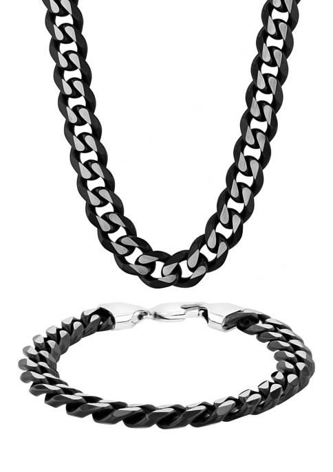Belk & Co. Curb Link Chain Bracelet and