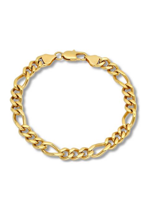 Belk & Co. Figaro Link Chain Bracelet in