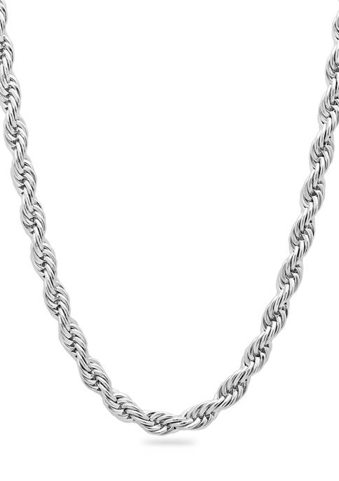 Belk & Co. Rope Link Chain Necklace in