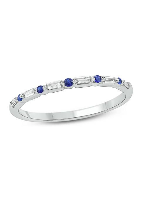 Belk & Co. 1/10 ct. t.w. Blue Sapphire