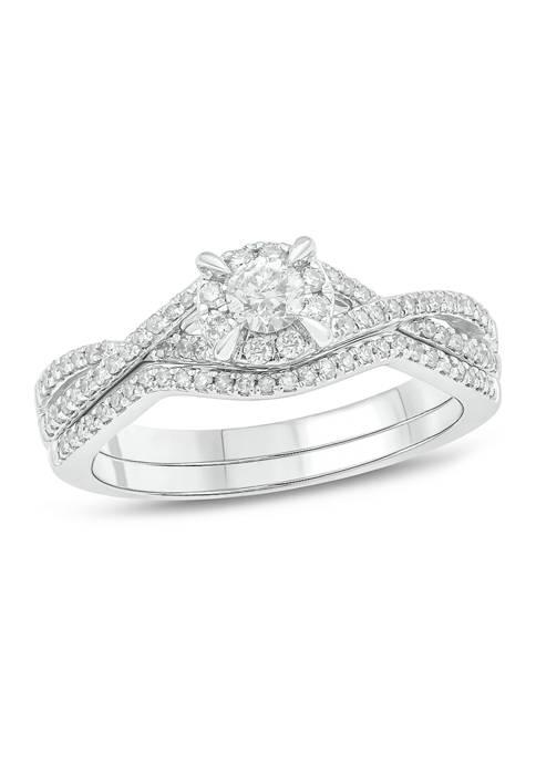 Belk & Co. 1/2 ct. t.w. Diamond Bridal