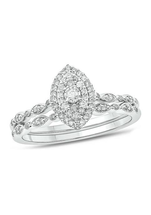 Belk & Co. 1/4 ct. t.w. Diamond Bridal