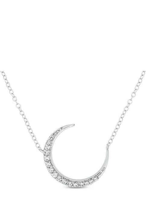 Belk & Co. 1/10 ct. t.w. Diamond Moon