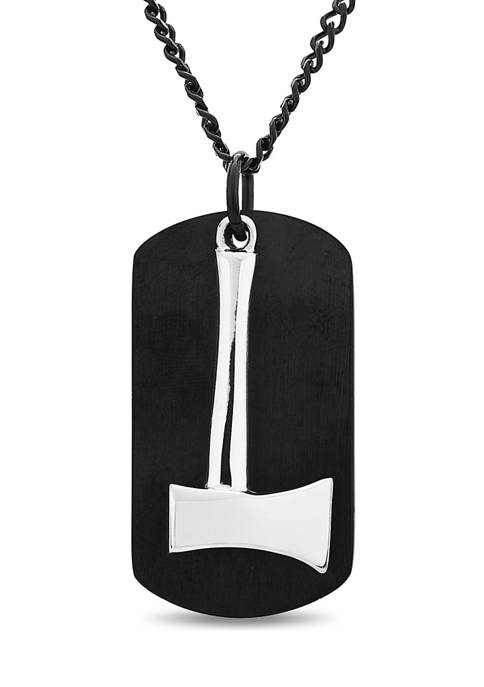 Forever New Stainless Steel 2-Piece Dog Tag with