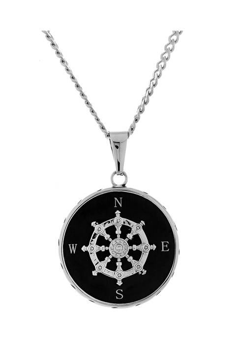 Forever New Stainless Steel Black Ion Plated Ship